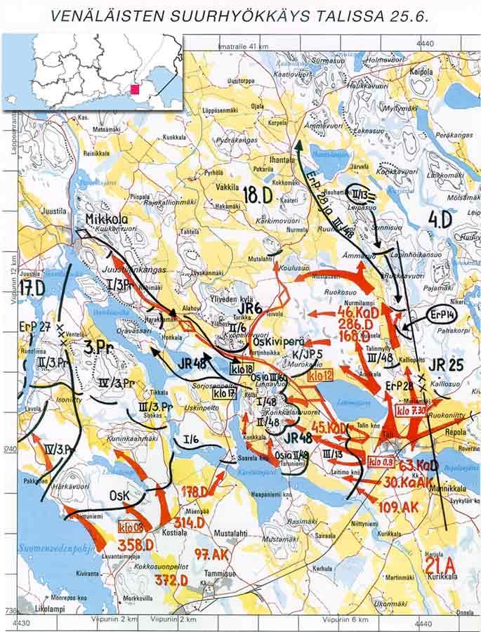 Топографическая Карта Карельский Перешеек